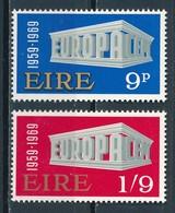 °°° IRELAND - Y&T N°232/33 - 1969 MNH °°° - 1949-... Repubblica D'Irlanda