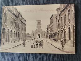 Lille - Les Bois Blancs - La Rue Surcouf Et église. - Lille