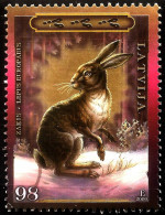 LATVIA ,  LETTONIA , LETTLAND   - 2009   Hare /  A Bunny -- Wildlife  ANIMAL   Used (0) - Lettonie
