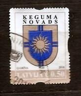 Latvia 2018 SMALL CITY LOGO - KEGUMS - SUN Used (0) - Lettonie