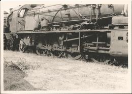Grande Photo - Les Laumes - Locomotive - 21 - Côte D'Or - Thème Chemin De Fer - Trains