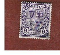 IRLANDA (IRELAND) -  SG 120  -  1940  ARMS  9  - USED - Usati