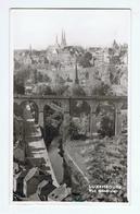LUXEMBOURG:  VUE  GENERALE  -  TIMBRE  ENLEVE'  -  POUR  L' ITALIE  -  PHOTO  -  FP - Lussemburgo - Città