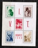 HUNGARY  Scott # 855b** VF MINT NH Souvenir Sheet (SS-402) - Hungary