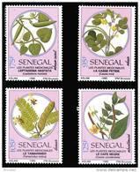 Senegal 0877/80** -  Plantes Médicinales  MNH - Sénégal (1960-...)