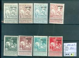 100-107 X Côte 90.00€ - 1894-1896 Expositions
