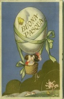 CHIOSTRI SIGNED 1920s POSTCARD - KIDS & BALLOON  -  EDIT BALLERINI & FRATINI - N. 198 (BG171) - Chiostri, Carlo