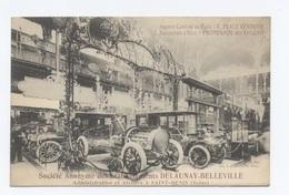 AUTOMOBILES BEAU PLAN SOCIETE DELAUNAY BELLEVILLE  - RECTO / VERSO-- B52 - Passenger Cars