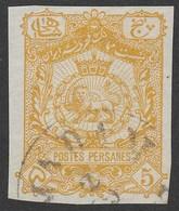 Iran Persia 1905, Stationery Cut Out - Iran