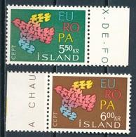 °°° ISLAND - Y&T N°311/12 - 1961 MNH °°° - 1944-... Republique