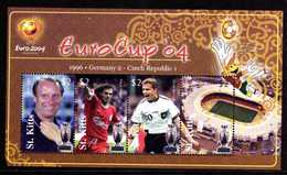 Saint Christophe St Kitts 1168/71  Coupe D'europe 2004, Tchèque, Allemagne, Berti Vogts, Olivier Berhoff, Patrick Berger - Fußball-Europameisterschaft (UEFA)