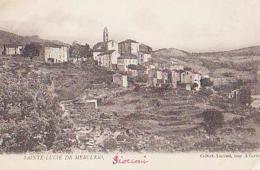 Corse        143       Sainte Lucie De Mercurio ( Vue Générale ) - Andere Gemeenten