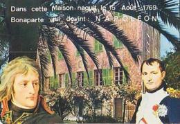 Corse        H233     Ajaccio.La Maison Où Naquit Napoléon 1er - Ajaccio