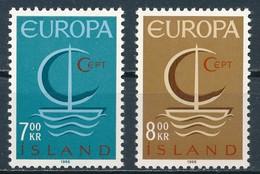 °°° ISLAND - Y&T N°359/60 - 1966 MNH °°° - 1944-... Republique