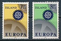 °°° ISLAND - Y&T N°364/65 - 1967 MNH °°° - Neufs
