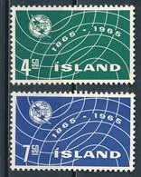 °°° ISLAND - Y&T N°345/46 - 1965 MNH °°° - 1944-... Republique