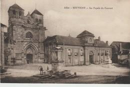 CPA - SOUVIGNY - LA FACADE DU COUVENT - - France