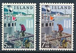 °°° ISLAND - Y&T N°325/26 - 1963 MNH °°° - 1944-... Republique