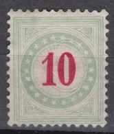 SUISSE  Taxe 1883:  Le  ZNr 18A IIK,  Neuf (*) - Portomarken