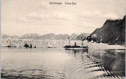 GROENLAND -- Spitzbergen - Cross- Bay - Greenland