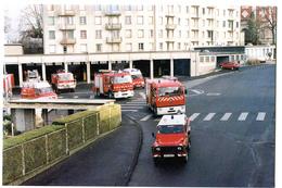 CPM 18 BOURGES Pompiers De Seraucourt  Le Départ En 2002 ! - Bourges