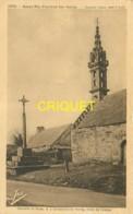 29 St Nic Pentrez, Chapelle St Jean, Calvaire Et Tronc à 2km Du Bourg, Belle Carte Pas Courante - France