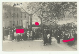 CONFOLENS Carte Photo   INAUGURATION MONUMENT EMILE ROUX   M.CHARRAUD (sonorisation) - Confolens