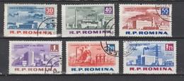Roumanie  1963   N° A 167 / 72 Oblitéré  Série Compléte  (6 Valeurs) - Oblitérés