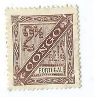 Timbre Congo Portugais N° 1 - Congo - Brazzaville