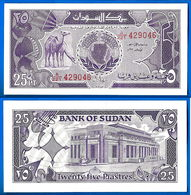 Soudan 25 Piastres 1987 Serie A Que Prix + Port Animal Afrique Billet Skrill Paypal Bitcoin OK - Vietnam