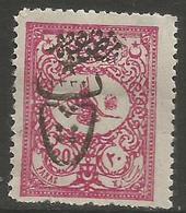 Turkey - 1917 Newspaper Post Overprint 20pa  MH *    Mi 553   Sc P157 - 1858-1921 Ottoman Empire