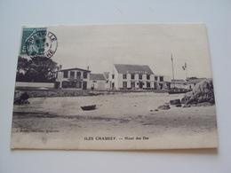 ILES CHAUSEY  Hôtel Des îles - France