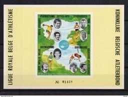 E 127LX ATLETIEK LUXEVELLETJE  POSTFRIS**  1973 A87 - Commemorative Labels