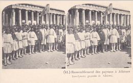 ATHENS, Greece, 1900-1910s; Ressemblement Des Paysaus A Athenes - Greece