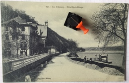 LAC D'ANNECY. Hôtel Beau-Rivage. - Annecy