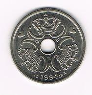//  DENEMARKEN 5 KRONER  1994 - Danemark