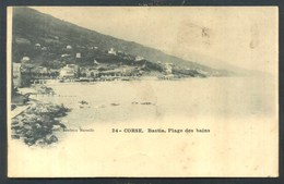 CORSE - CORSICA - BASTIA - PLAGE DES BAINS - Bastia