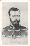 """¤¤   -   RUSSIE   -   Le Tsar """" NICOLAS II """"  -  Empereur De Russie     -   ¤¤ - Russie"""