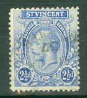 St Vincent: 1921/32   KGV    SG133a     2½d     Used - St.Vincent (...-1979)