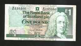 SCOTLAND - THE ROYAL BANK Of SCOTLAND - 1 POUND (1992) - 1 Pound
