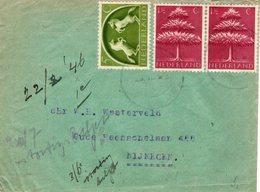 22 II 46 Briefje Stadskanaal Naar Nijmegen - Periode 1891-1948 (Wilhelmina)