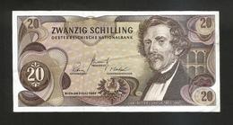 AUSTRIA / OESTERREICHISCHE NATIONALBANK - 20 SHILLING - (Wien 1967) Carl Ritter Von Ghega - Austria
