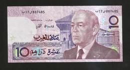 MAROCCO - Bank  Al MAGHRIB - 10 DIRHAMS (1987) - Marocco