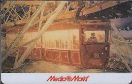 GERMANY Gift-card  Media Markt - Wuppertal - Schwebebahn - Train - Gift Cards