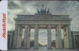 GERMANY Gift-card  Media - Markt - Berlin - Brandenburger Tor ( Mit Media Markt) - Gift Cards