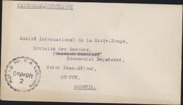 Guerre 39 Prisonnier Aviateur J.A.G JAG Deans RAF R.A.F Camp Leader Kriegsgefangenenlager Der Luftwaffe Cachet Kgd Lg 6 - Briefe U. Dokumente