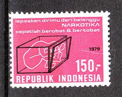 Indonesia - 1979. Lotta Alla Droga.  Fight Against Drugs. MNH - Droga