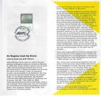 België O.B.C Postfolder 1991    2417  - Nr.12  -   1991  A. Finch - Kartenbriefe
