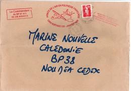 Armée De L'air En Polynésie - BPM 704 1996 - Casa Nurtanio Faaa - Marcophilie (Lettres)