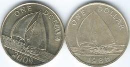 Bermuda - Elizabeth II - Dollar - 1988 (KM56) & 2009 (KM111) - Bermuda